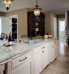 Msi Sparkling White Quartz Kitchen Countertops
