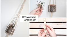 How To Make A Macrame Plant Hanger (Tutorial For Beginners)