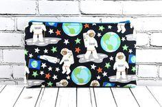 Glow in the Dark Astronaut Pencil Case, Boys Bag, Solar System, Galaxy, Spaceman, Space Bag, School Supplies, Gadget Bag