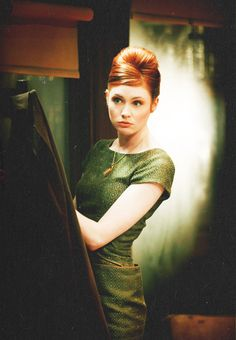 Karen Gillan. There wasn't enough lovely ladies on this board. Get ready for a deluge now! :)
