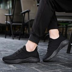'Wallo' Sneakers - Brute Impact Mens Fashion Shoes, Sneakers Fashion, Women's Sneakers, Sneakers Design, Leather Sneakers, Sneakers For Sale, All Black Sneakers, Yellow Sneakers, Sneaker Boots
