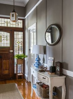 Entry hal hall colour, queenslander house, kitchens and bedrooms, entry hal Home Design, Interior Design, Design Ideas, Design Styles, Interior Decorating, Decorating Ideas, Hall Colour, Queenslander House, Small Hallways