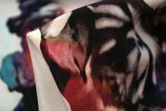 Repeat Retro - Crepe De Chine Silk - Tessuti Fabrics - Online Fabric Store - Cotton, Linen, Silk, Bridal & more