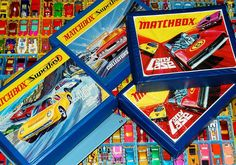 the-toy-exchange - A large selection of Lesney Matchbox Superfast cars with their trays and cases. A stunning find purchased from an ex Lesney employee.