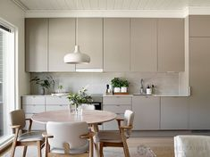 42 The True Meaning of Five Keys to Scandinavian Kitchen Design homesuka Kitchen Room Design, Modern Kitchen Design, Home Decor Kitchen, Rustic Kitchen, Interior Design Kitchen, Kitchen Furniture, Home Kitchens, Scandinavian Kitchen Interiors, Scandinavian Design