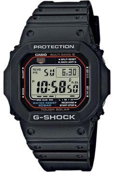 Casio GW M5610-1  https://www.amazon.ca/Casio-GWM5610-1-G-Shock-Solar-Watch/dp/B007RWZHXO/ref=sr_1_1?s=watch&ie=UTF8&qid=1512432617&sr=1-1&nodeID=2235620011&psd=1&keywords=Casio+Men%27s+GWM5610-1