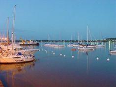 Puerto deportivo de Colonia del Sacramento. Uruguay.