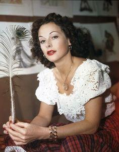 Vintage Glamour Girls: Hedy Lamarr