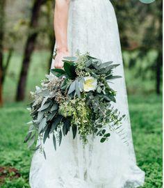 Bouquet de la mariée - feuillage!!
