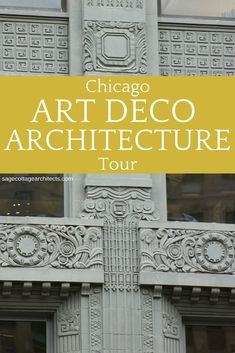 The Chicago Architecture Center's Art Deco Skyscrapers: The Riverfront is a great opportunity to see some gorgeous Art Deco Architecture. Chicago Buildings, Art Deco Buildings, 1920s Architecture, Architecture Design, Chicago Art, Chicago River, Chicago Hotels, Chicago Photography, Art Deco Home