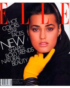 The first monthly issue of ELLE USA. I still have this issue. The first 10 years of ELLE USA were amazing! I have them all!