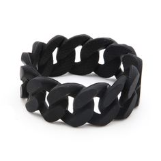 Link Chew Bracelet in Black - Worn by stylish moms, chewed on by stylish babies! #PNshop
