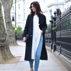 More Pics 100 CHANEL Cashmere black long coat 10 L More pics of coat and inspo. 100% cashmere flawless coat from CHANEL with 100% silk lining. Model pic is for inspiration only. CHANEL Jackets & Coats