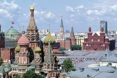 Red Square-Moscow, Russia (Peter has been here, but he says he won't take me because it is to dangerous in Russia) Places To Travel, Places To See, Places Ive Been, Places Around The World, Around The Worlds, Moscow Red Square, France, Eastern Europe, Paris Skyline