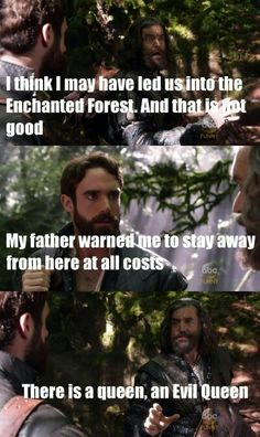 A #OnceUponATime reference on #Galavant! What do we do to get a crossover? I NEED a musical episode of Once.