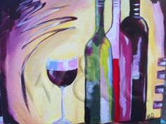 You can paint this at Wine and Design Cary!