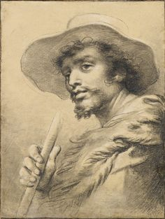 cades, giuseppe a shepherd A4 Poster, Poster Prints, The Shepherd, Guy Drawing, Doodle Sketch, Vintage Artwork, Old Master, Caricature, Impressionist