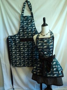 NFL Philidelphia Eagles His & Her apron set   ANY by SedonaStyle, $60.00