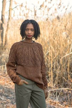 015a97bb093b7 Pine Creek Sweater Knitting pattern by Samantha Guerin