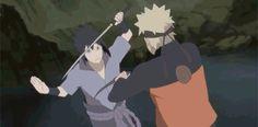La historia se centra en la vida de un ninja adolescente...