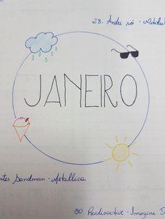 Capa Bullet Journal Janeiro