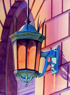The Lamp On Goodwin Painting by Robert Hooper - The Lamp On Goodwin Fine Art Prints and Posters for Sale