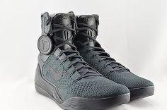 outlet store 64305 529e4 Nike Kobe IX Elite FTB - SIZE 12 - 869455-002 Fade to Black Anthracite 9  High QS