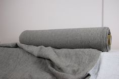 Pure 100% linen fabric by metre. Natural and by LinenFromLithuania