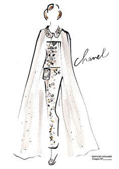 Chanel Spring 2016 Couture » Miyuki Ohashi