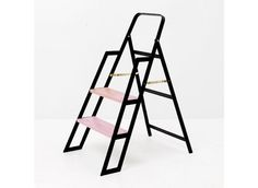 I don't know why I have always had a fascination for step ladders. Maybe it is all the potential for fabulous design in the ladder and chair mix. With that in mind, I'm going to go ahead and crown Step by Iacoli & McAllister the most gorgeous s . Upcycle Home, I Believe In Pink, California Homes, Ladder Bookcase, Home Accents, Decoration, Home Accessories, Blog, Interior Design