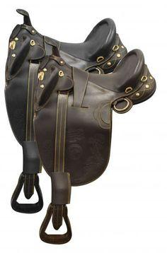 Brown Australian Outrider Neoprene Padded Horse Aussie Australian Girth Cinch