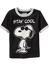 Snoopy® Ringer Tees for Baby