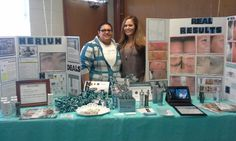 Nerium REAL results booth. Need to create one of these for my business. JuliaRJones.arealbreakthrough.com