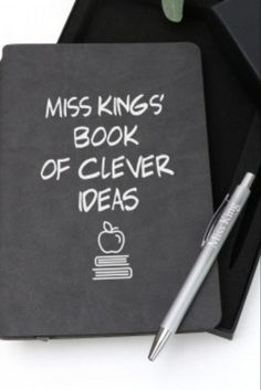 This is probably the most practical gift you can give to a teacher! If you want to gift them something they will use every day and appreciate whenever they need to jot down a note or scribble lesson plans, then this is just the thing. A personalised notebook with an engraved pen. It's unique, meaningful and extremely practical!