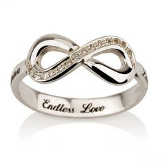 Sterling Silver Personalized Endless Love Bangle