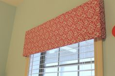 Creative approach to DYI light weight cornice boards - could use foam adhesive instead of duct tape