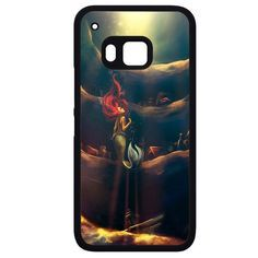 Art Little Mermaid Up OceanPhonecase Cover Case For HTC One M7 HTC One M8 HTC One M9 HTC ONe X