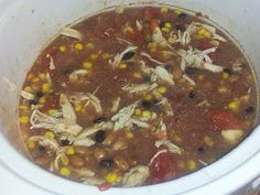 The Recipe Report: Clean Eating Slow Cooker Southwestern 2 Bean Chicken