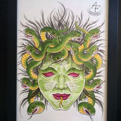 Medusa,  by Anderson Foguinho tattoo.