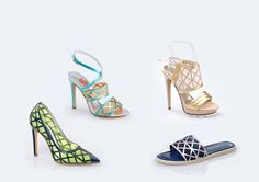MV_SS15 #MarioValentino #Shoes #Sandals #Fishnet