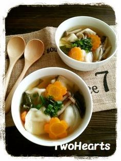 体ポカポカ(●^o^●)スープ水餃子 by TWOHEARTS [クックパッド] 簡単おいしいみんなのレシピが226万品
