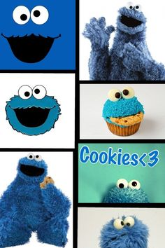 Cookie Monster !!!! :)