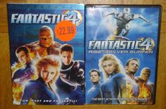 Fantastic 4 & Rise of the Silver Surfer 2 DVD Set Widescreen Edition