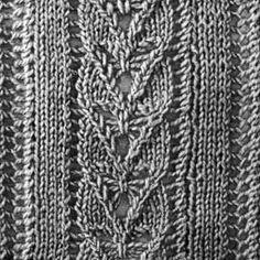 Knitting Pattern Square No. 11, Volume 34