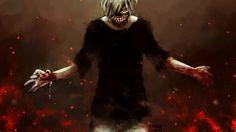 Download Ken Kaneki Art Picture Tokyo Ghoul Anime 1920x1200