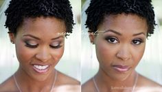 Bridal Makeup for African American Women www.makemeuppretty.com