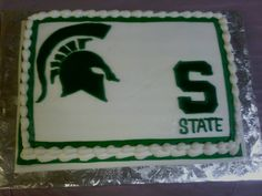 The Michigan State Decorated Groom S Cake