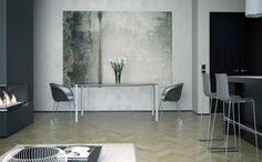 Sleek and elegant – the décor we envision for your home. Check some #exquisite apartments at http://www.heese18.de