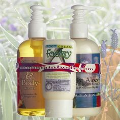 $35.00 Great for Christmas gifts!  Lavender & Tangerine Gift Set | Mountain Body Products