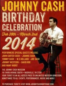 The Johnny Cash Museum Set To Premiere The Johnny Cash Birthday Bash - Music News Nashville Johnny Cash Birthday, Birthday Bash, Birthday Celebration, Nashville Events, Johnny Cash Museum, Johnny And June, Special Guest, Country Music, My Love